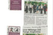 Live-Milonga mit Tango Argentino