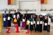 Bayrische Landesmeisterschaft Hauptgruppe II Standard 2019 - Steffi und Stefan werden bayerische Meister