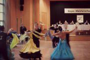 Bayerische Meisterschaften - Sensationeller Erfolg unseres Nachwuchspaares